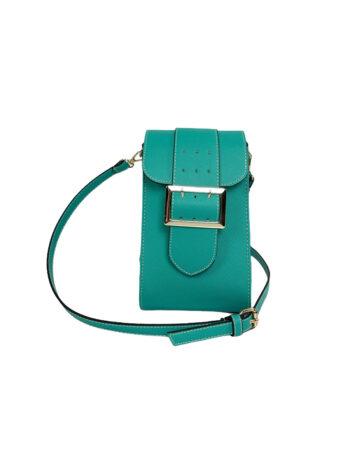 Γυναικεία τσάντα χιαστί Colori Πετρόλ