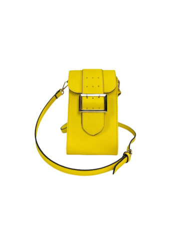 Γυναικεία τσάντα χιαστί Colori Κίτρινο