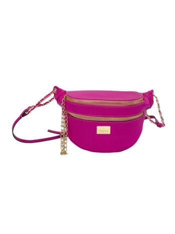 Γυναικεία τσάντα μέσης Colori Βιολετί
