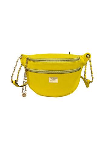 Γυναικεία τσάντα μέσης Colori Κίτρινο