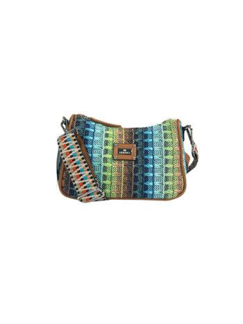 Γυναικεία τσάντα χιαστί mini Amaryllis Μπλε