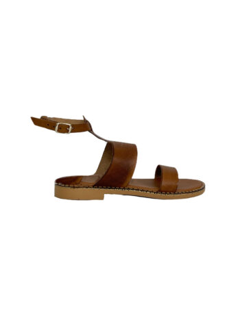 Γυναικείο Υπόδημα Δερμάτινο flat sandals Ταμπά