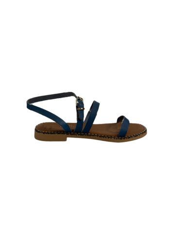 Γυναικείο Υπόδημα Δερμάτινο sandals Μπλε