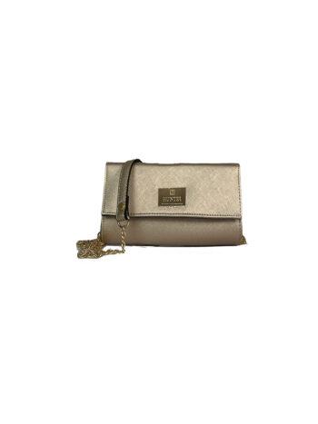 Γυναικεία τσάντα flap GC Χρυσό