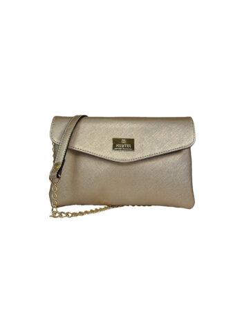 Γυναικεία τσάντα clutch GC Χρυσό